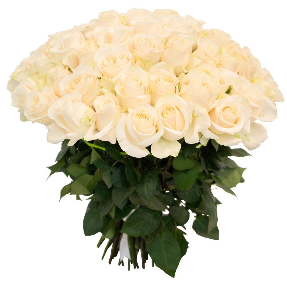 картинку с большим букетом белых роз всегда рада постоянным