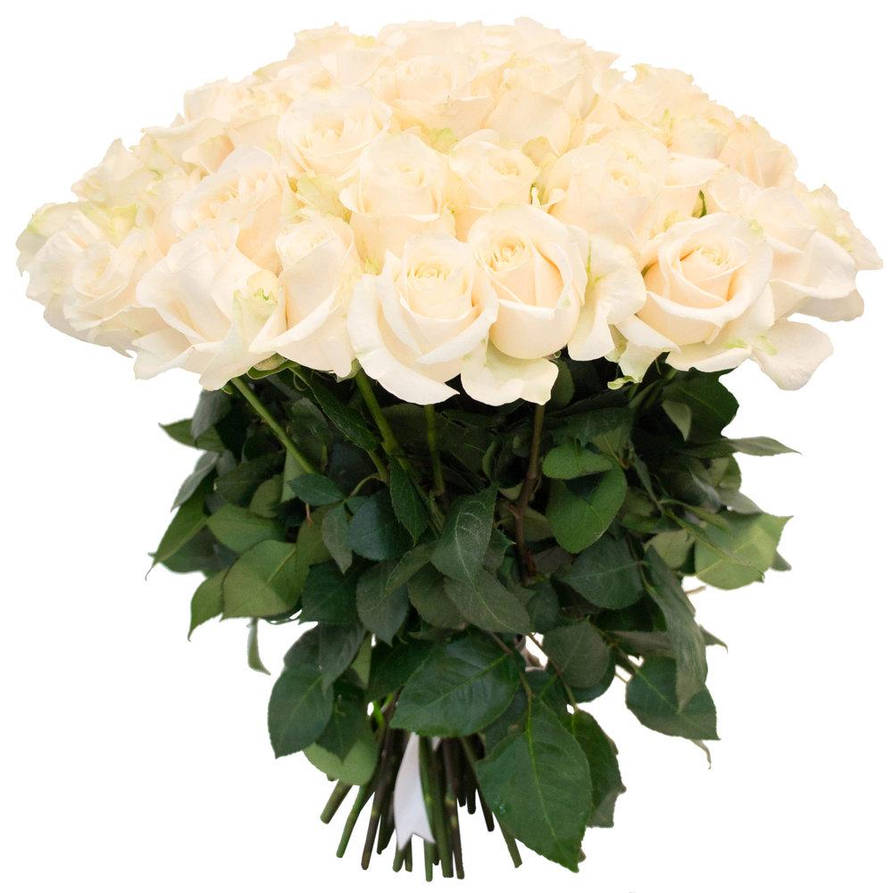 Фото цветы букеты белые розы с