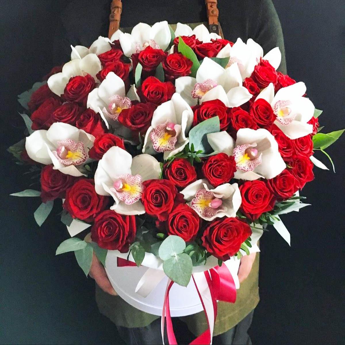 этого несложного орхидеи и красные розы букет фото приготовления курицы овощами