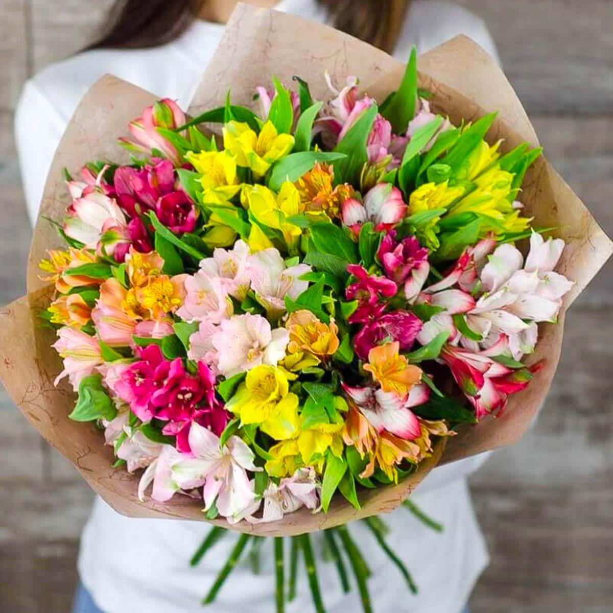 базовые букеты из цветов фото