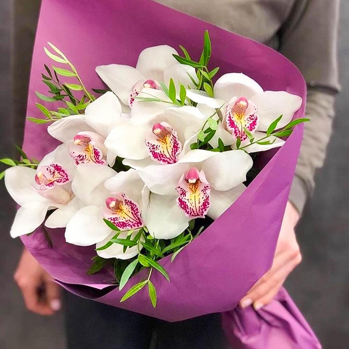 красивый букет орхидей фото на день рождения большое