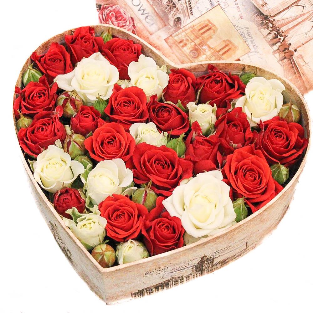 4 причины купить цветы в коробке в