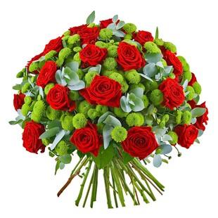 Мужской букет цветов с доставка новосибирск — 12